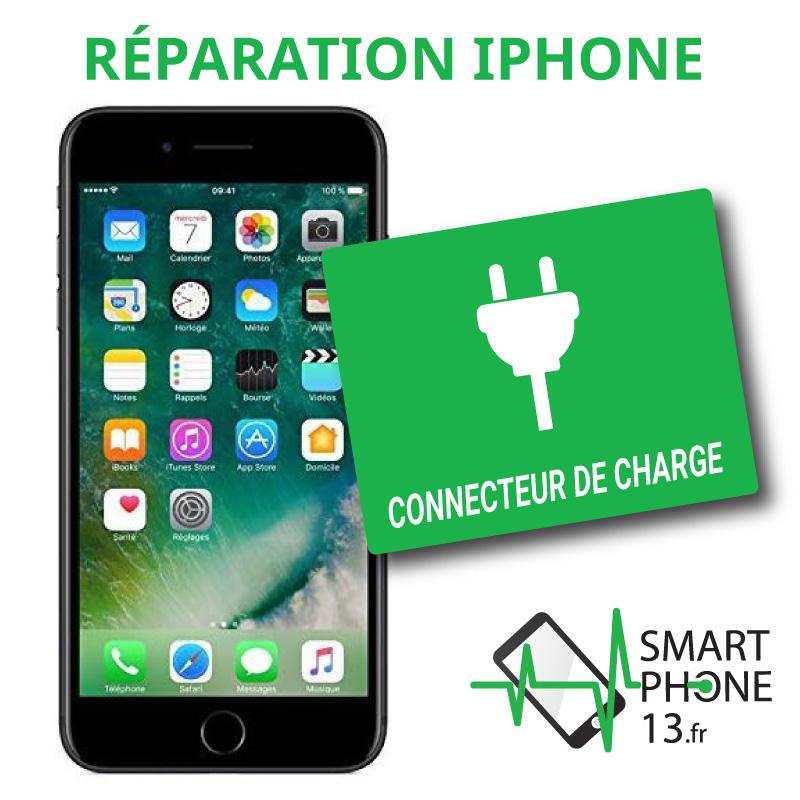 Réparation connecteur de charge iPhone